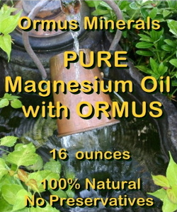 Ormus Minerals Pure Magnesium Oil with ORMUS Dew