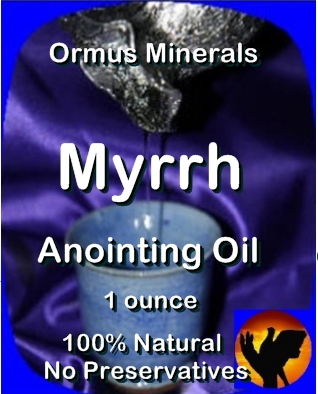 Ormus Minerals Anointing Oil with Myrrh