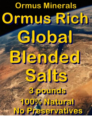 Ormus Minerals -ORMUS Rich Blended Salts