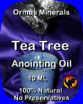 Ormus Minerals Tea Tree Anointing Oil
