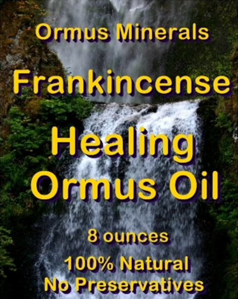 Ormus Minerals Frankincense Healing Ormus Oil