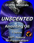 Ormus Minerals UNSCENTED Anointing Oil